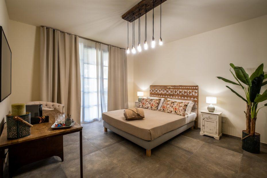 Le camere del Relais San Baio, Cecina
