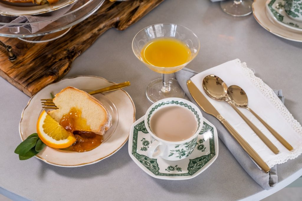 La colazione al San Baio Relais