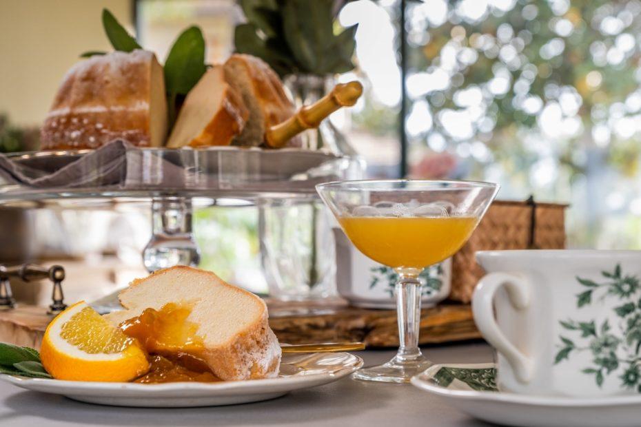 La colazione al Relais San Baio, Cecina